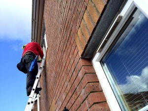 window cleaner Swansea